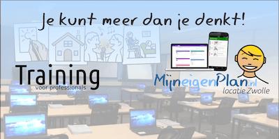 MijnEigenPlan Training voor professionals 9 Oktober 2019 (Belgie)