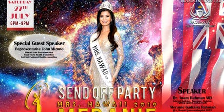 SEND OFF PARTY - Mrs. Hawaii 2019 Meranie Gadiana Rahman tickets