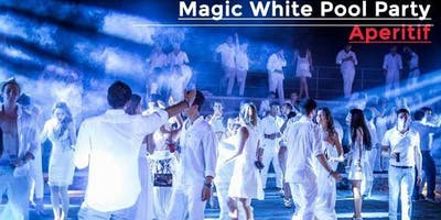 Magic White Party / Pool Aperitif powered by RedBull - AmaMi Communication