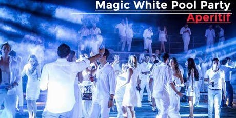 Magic White Party / Pool Aperitif powered by RedBull - AmaMi Communication  biglietti