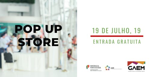 Pop Up Store - Mostra de serviços | Workshops B2B