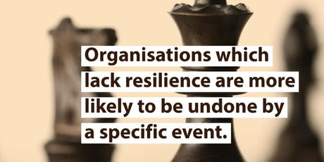 Organisational Resilience - Level 5 Award tickets
