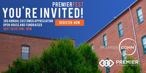 3rd Annual PremierFest: Customer Appreciation Event and Charity Drive