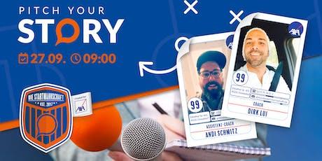 Pitch your Story - Überzeug´ die Coaches Andi und Dirk von Deiner Idee #4 Tickets