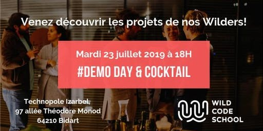 Demo Day & Cocktail de clôture - Wild Code School Biarritz