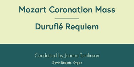 Constanza Chorus - Mozart and Durufle tickets