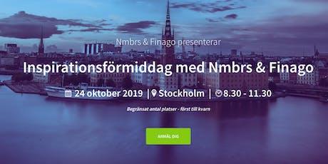 Inspirationsförmiddag med Nmbrs & Finago tickets