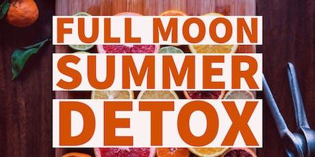 Full Moon Detox: Yoga & Juice tickets