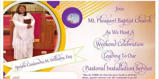 Official Installation Ceremony of Apostle Cassandra Williams
