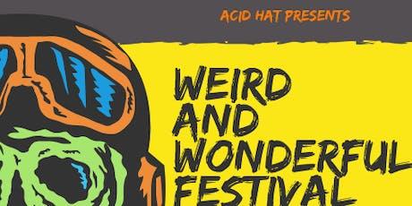 Weird and Wonderful 2019 GET WEIRDER tickets