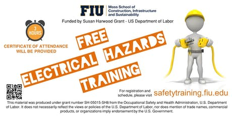 FREE Electrical Hazards Training tickets