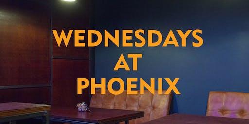 Wednesdays at Phoenix: Cred Talks (30 Oct)