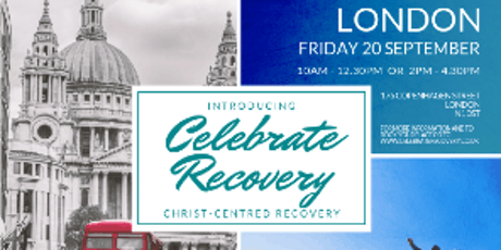 Introducing Celebrate Recovery tickets