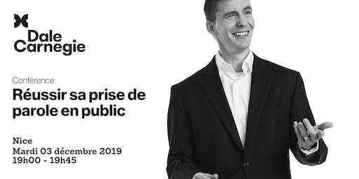 Réussir sa prise de parole en public - Conférence à Nice