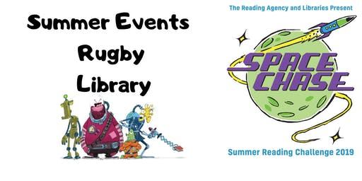 Summer Events at Rugby Library - No need to book!