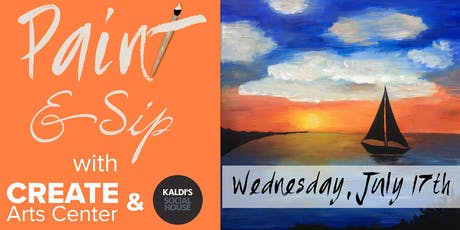 July Paint & Sip tickets