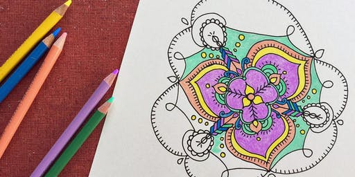 ADULT COLORING & COCKTAILS