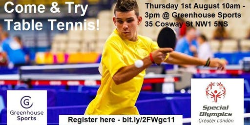 Come and Try Table Tennis!