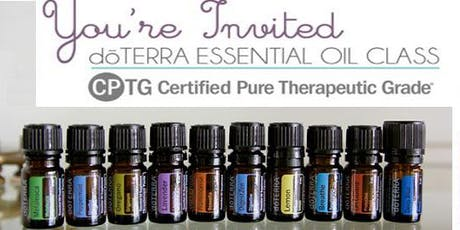 FREE ESSENTIAL OIL EDUCATION CLASS tickets