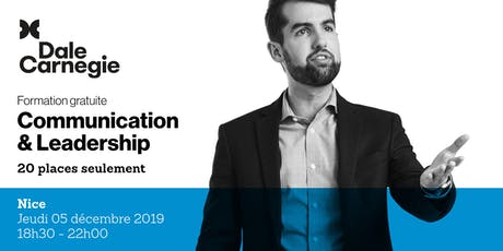 Communication & Leadership - Soirée de formation gratuite à Nice tickets