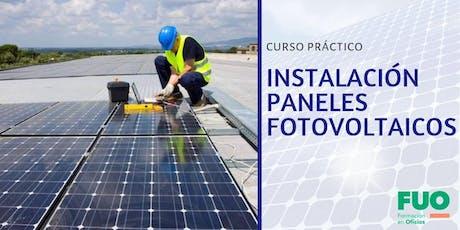 Curso Instalación de Paneles Fotovoltaicos entradas