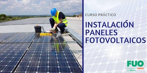 Curso Instalación de Paneles Fotovoltaicos