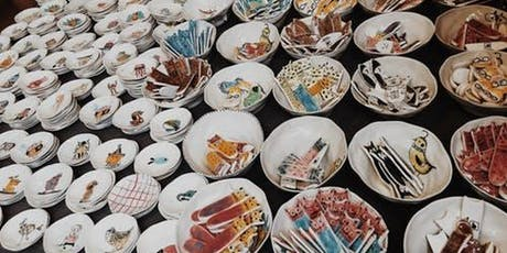 Clay and pottery workshop - design, mould and paint your own bowl tickets