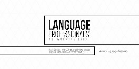 Language Professionals' Networking Event - July 2019 tickets