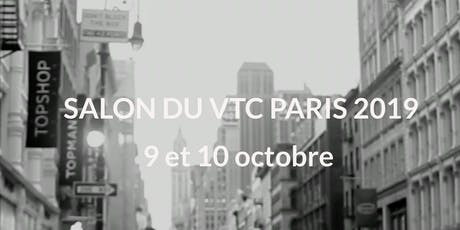 Invitation presse & Exposant Salon du VTC Paris  billets