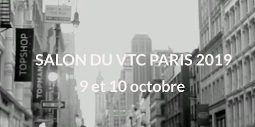 Invitation presse & Exposant Salon du VTC Paris