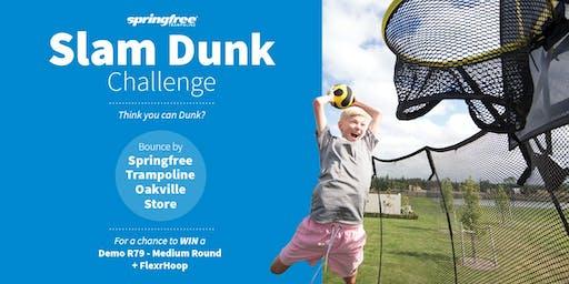 Springfree Trampoline Oakville - Slam Dunk Challenge