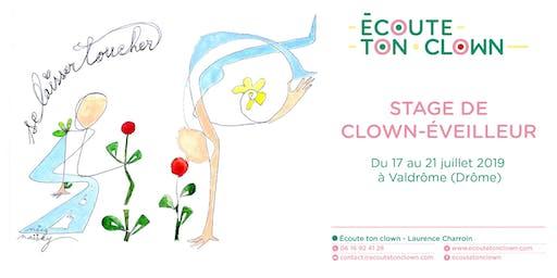 """Stage de Clown-Éveilleur """"Se laisser toucher"""""""
