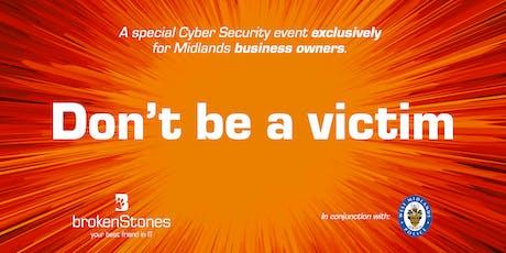 broken Stones Cyber Security Event tickets