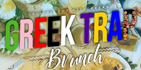 AUG 3 | GREEK TRAP BRUNCH AT FUEGO SALOON | 11AM - 6PM | SOUNDS BY DJ Q HOLIC | NO COVER ALL DAY | MORE INFO TXT 832.993.4226  tickets