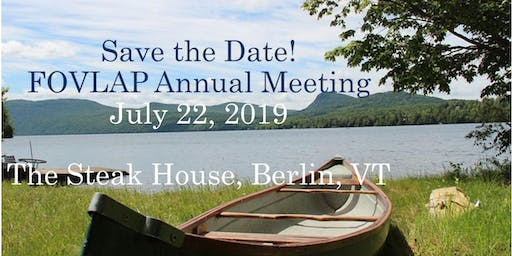 "2019 Annual Meeting ~ ""Protecting Healthy Lakes"""