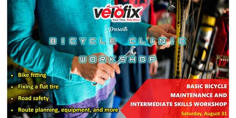 Bicycle Clinic presented by Velofix tickets