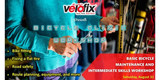 Bicycle Clinic presented by Velofix