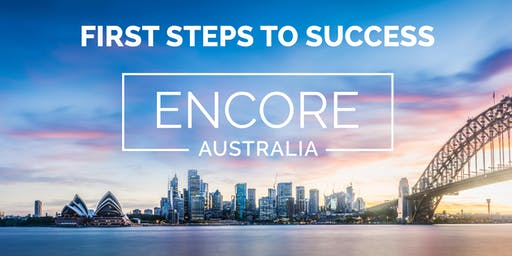 First Steps to Success Encore in Brisbane, Australia - September 13-15, 2019