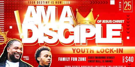 I Am A Disciple of Jesus Christ! tickets