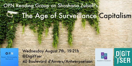 OPN Reading Group: The Age of Surveillance Capitalism by Shoshana Zuboff (6th Meeting) tickets