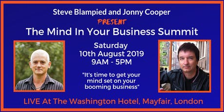 The Mind In Your Business Summit with Steve Blampied and Jonny Cooper tickets