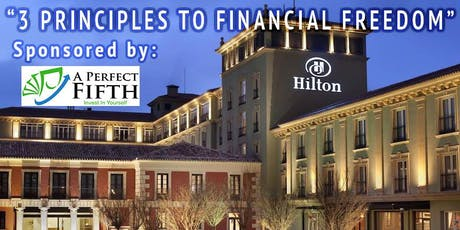 3 PRINCIPLES TO FINANCIAL FREEDOM tickets