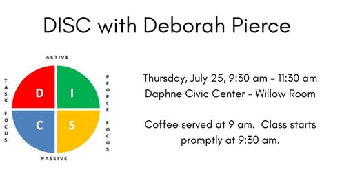 DISC Profiles with Deborah Pierce