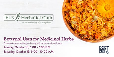 External Uses for Medicinal Herbs tickets