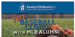 Family & Children's aid Baseball Clinic with MLB Alumni