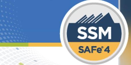 Scaled Agile: SAFe® Scrum Master Certification(SSM), Washington,DC Weekend Batch tickets