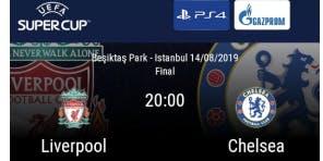 Super cup Liverpool V Chelsea
