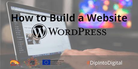 How To Build a Website - Wordpress - Wimborne - Dorset Growth Hub tickets