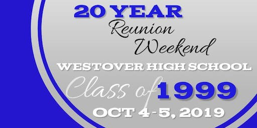 Westover High School Class of 1999 20 Year Reunion