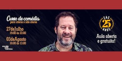AULA ABERTA | Teatro para Atores e não atores da Escola do Ator Cômico